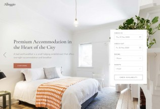 Alloggio – Premium Responsive Hotel Booking WordPress Theme