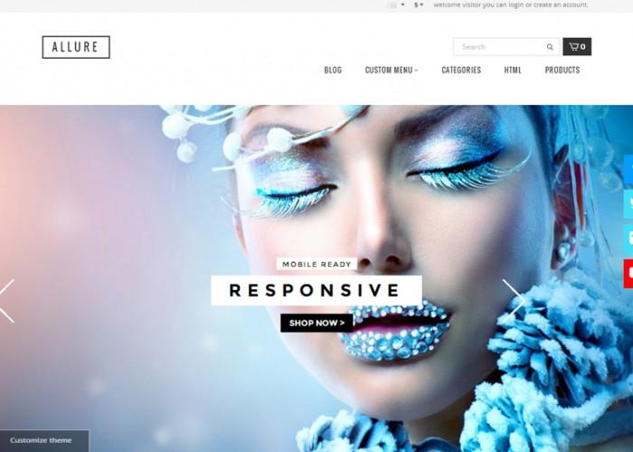 Allure – Premium Responsive Opencart Theme