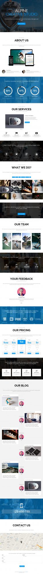 Best Responsive Drupal Blog Themes in 2014