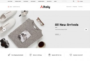 Altaly – Premium Responsive Multipurpose Opencart 3.0 Theme