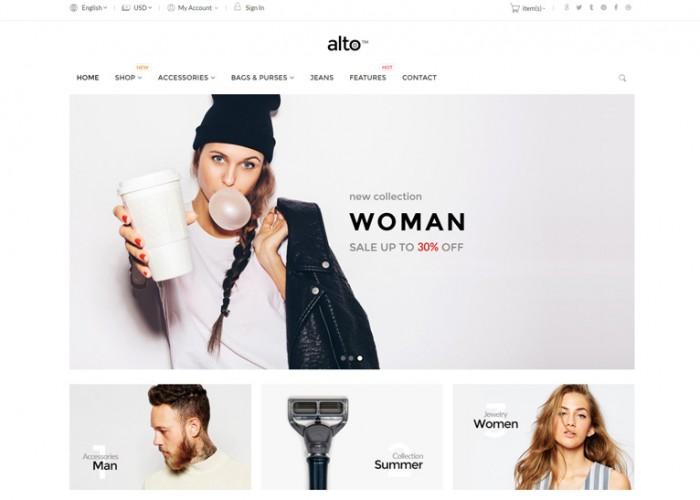 Alto – Premium Responsive Magento 1 & 2 Theme