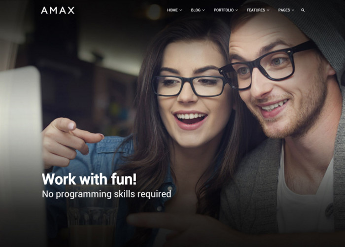 Amax – Premium Responsive MultiPurpose WordPress Theme