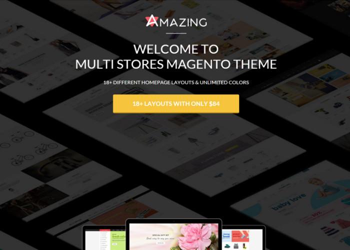 Amazing – Premium Responsive Multipurpose Magento Theme