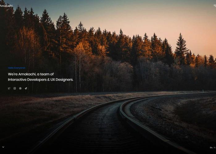 Amokachi – Premium Responsive Creative Portfolio HTML5  Template
