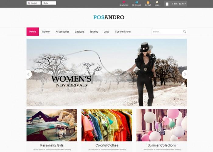 Andro – Premium Responsive Multipurpose Prestashop Theme