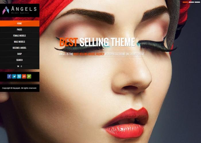 Angel – Premium Responsive Fashion Model Agency WordPress Theme