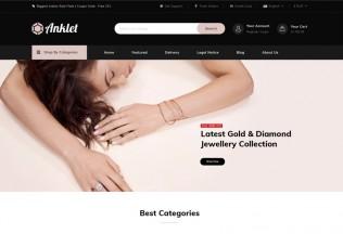 Anklet – Premium Responsive Jewelry Prestashop 1.7 Theme