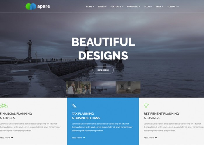 Apare – Premium Responsive Multipurpose Joomla Website Template