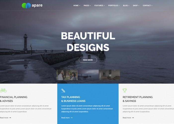 Apare – Premium Responsive Multipurpose Joomla Website Template