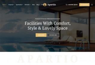 Apartio – Premium Responsive Single Property WordPress Theme