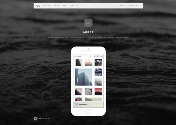 Apper – Premium Responsive WordPress Theme for Apps