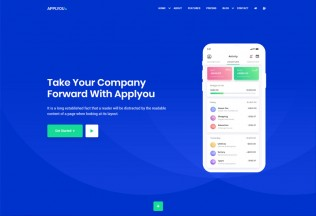 Applyou – Premium Responsive App Landing Page HTML5 Template