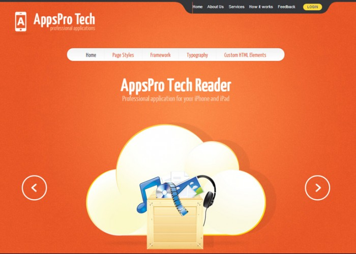 AppsPro Tech – Premium Responsive WordPress App showcase Theme