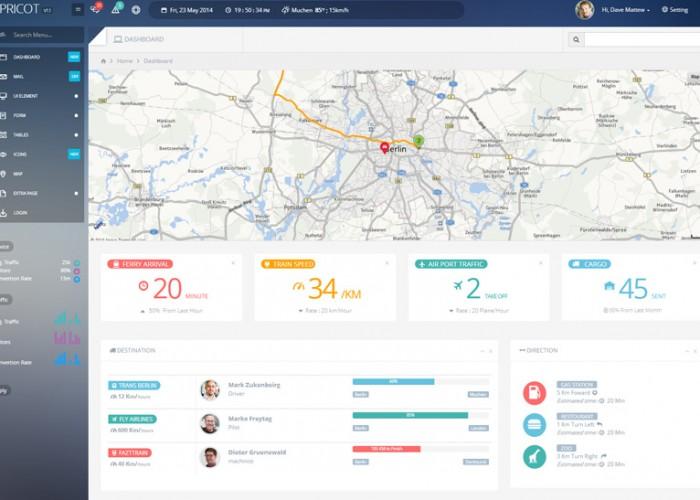 Apricot – Premium Responsive Bootstrap 3 Admin Dashboard Template