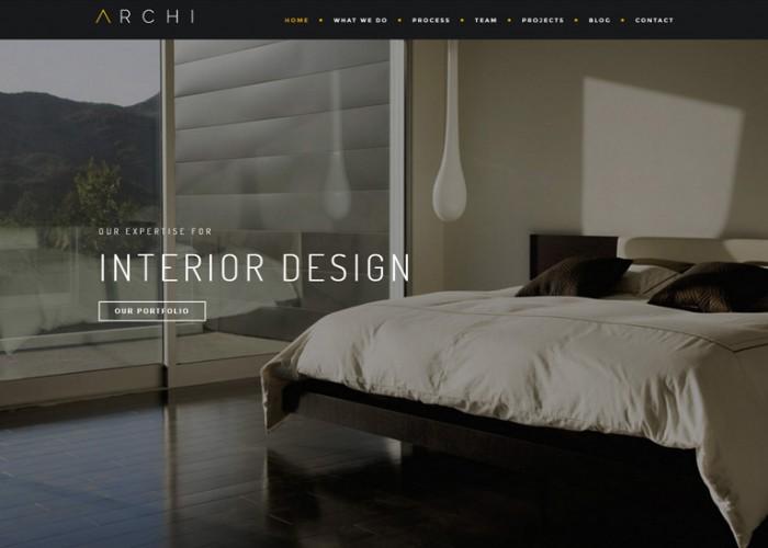 Archi – Premium Responsive Interior Design Joomla Template