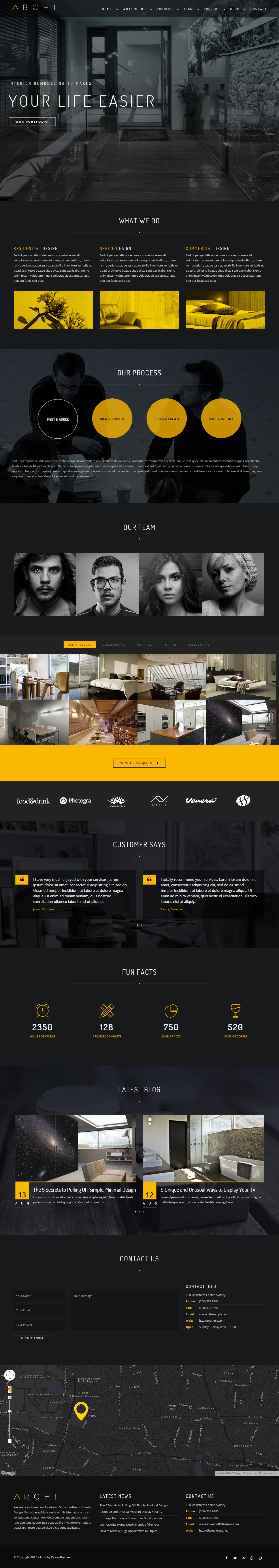 25+ Best Architect Wordpress Themes in 2019 - Responsive Miracle