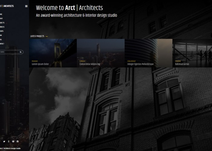 Arct – Premium Responsive Architects Corporate HTML5 Template