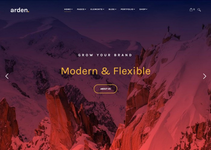 Arden – Premium Responsive Multipurpose HTML5 Template