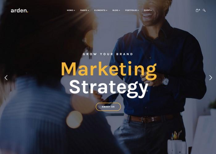 Arden – Premium Responsive Sharp & Modern Multipurpose WordPress Theme