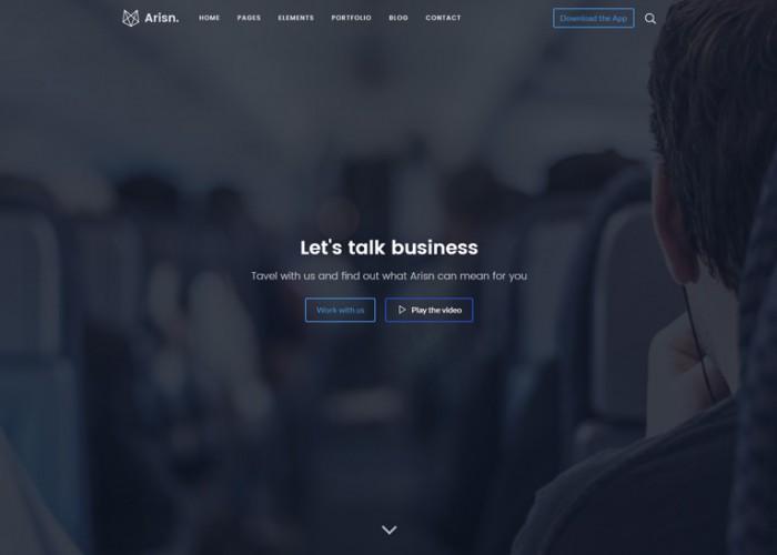 Arisn – Premium Responsive Multipurpose HTML5 Template
