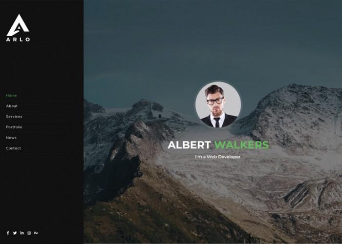 Arlo – Premium Responsive Personal Portfolio React HTML5 Template