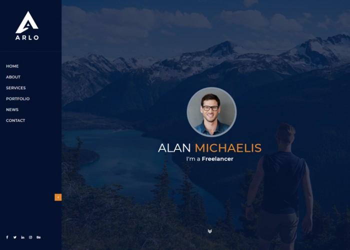 Arlo – Premium Responsive Personal Portfolio Resume HTML5 Template