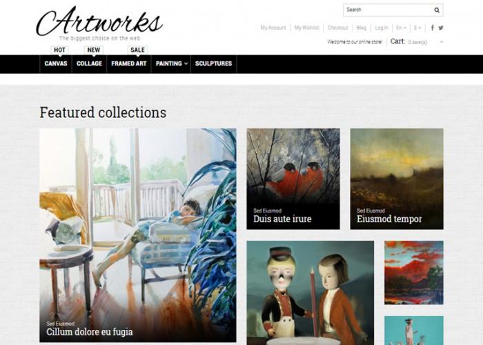 Art Store – Premium Responsive Magento Theme
