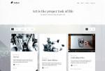 Artee – Premium Responsive Portfolio Ghost Theme