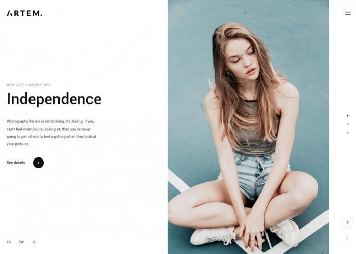 Artem – Premium Responsive Digital Agency WordPress Theme
