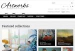 Artworks – Premium Responsive Art Store Magento Theme