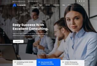 Aruxcont – Premium Responsive Business Consulting WordPress Theme