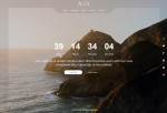 Asa – Premium Responsive Coming Soon HTML5 Template