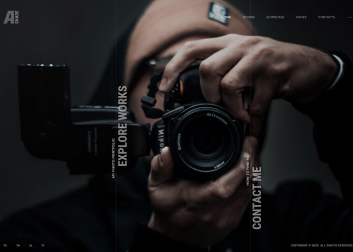 Ashade – Premium Responsive Photography WordPress Theme