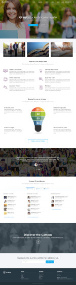 Best Responsive HTML5 College and University Templates in 2015
