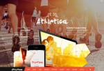 Athletica – Premium Responsive Retina Parallax OnePage WordPress Shop Theme