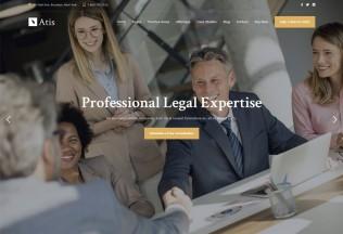 Atis – Premium Responsive Lawyers Advisors WordPress Theme
