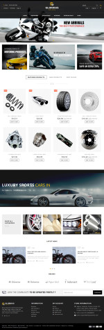 Best Responsive Auto Store Prestashop Themes in 2015