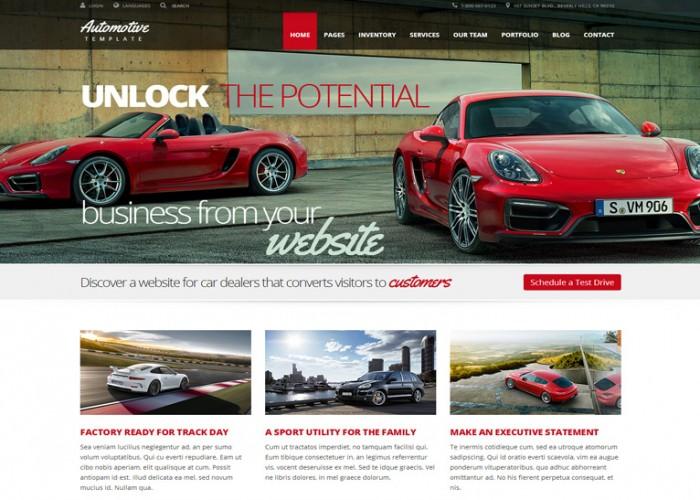 Automotive – Premium Responsive Car Dealership & Business HTML5 Template