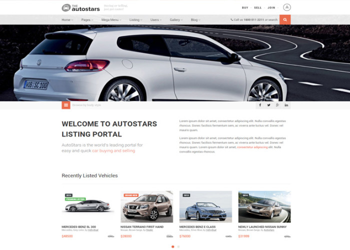 AutoStars – Premium Responsive Car Dealership HTML5 Template
