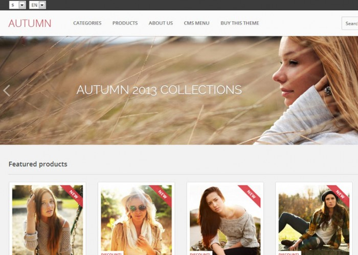 Autumn – Premium Responsive Prestashop Theme