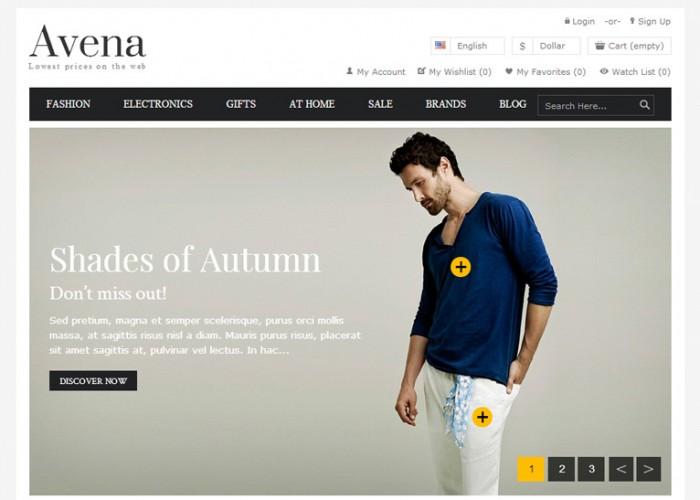 Avena – Premium Responsive Multipurpose Prestashop Theme