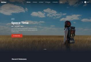 Aztec – Premium Responsive Video Streaming WordPress Theme