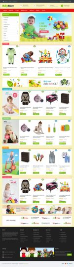 5+ Best Premium Responsive Magento Kids and Toys Store Themes in 2015