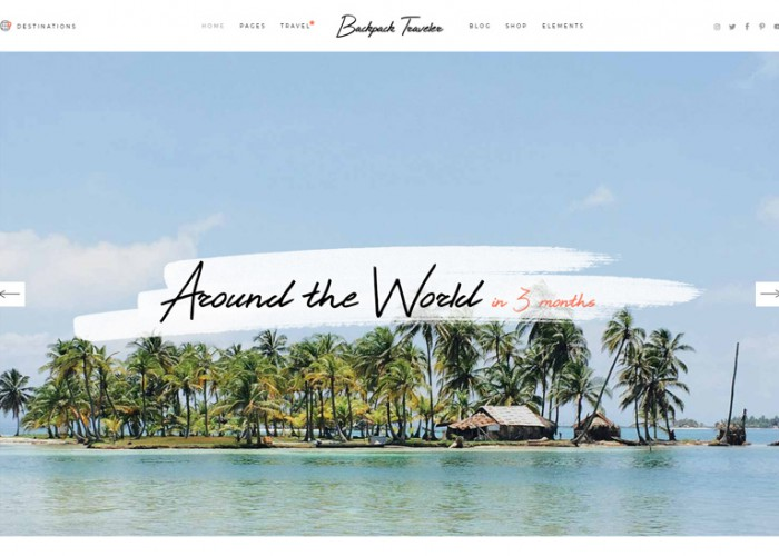 Backpack Traveler – Premium Responsive Travel Blog WordPress Theme