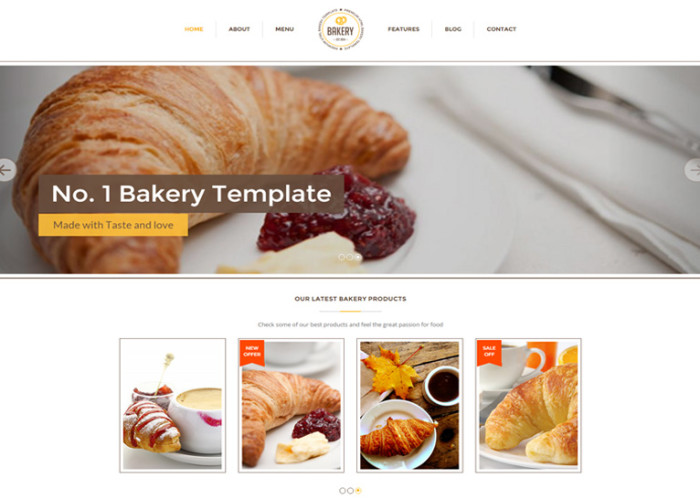 Bakery – Premium Responsive Bakery, Cakery & Food Drupal Theme