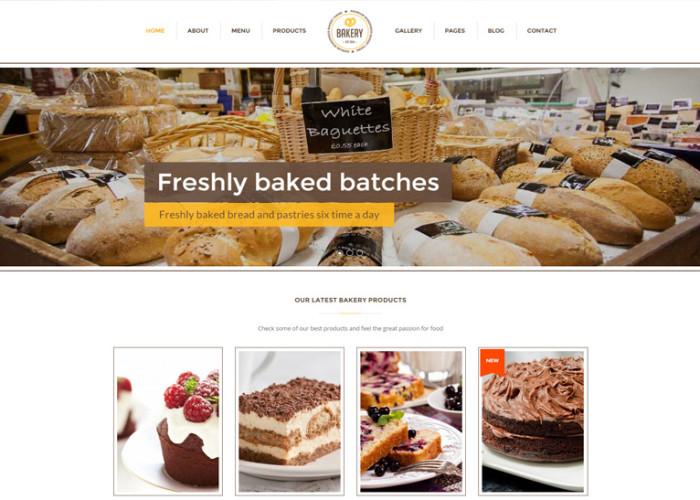 Bakery – Premium Responsive WordPress Bakery, Cakery & Food Theme