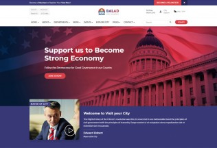 Balad – Premium Responsive City Government HTML5 Template