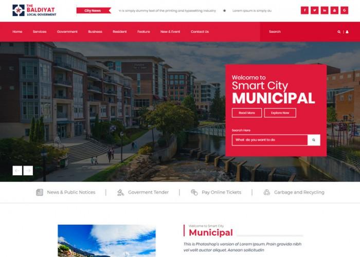 Baldiyaat – Premium Responsive Local Government HTML5 Template