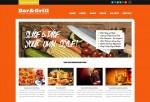 Bar + Grill – Premium Responsive WordPress for Restaurants & Local Businesses