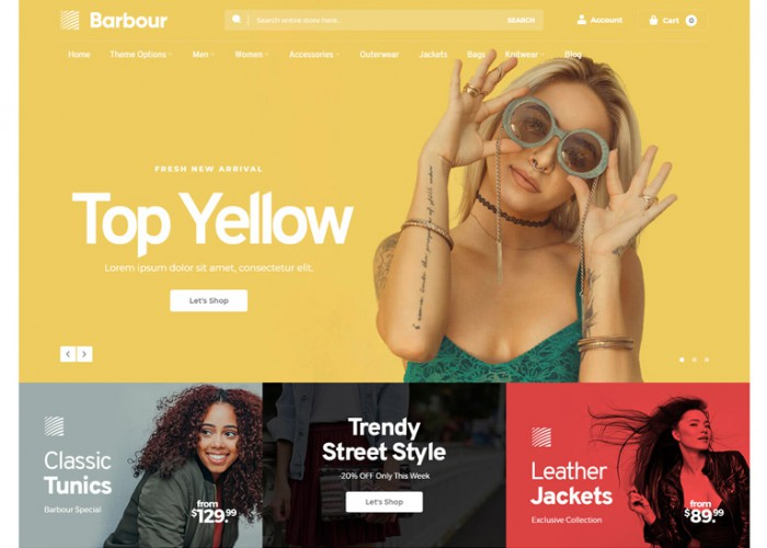 Barbour – Premium Responsive MultiPurpose Magento 2 Theme